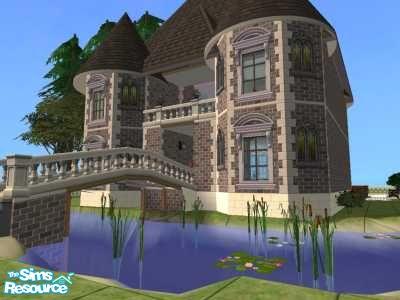 красивый дом в симс 3