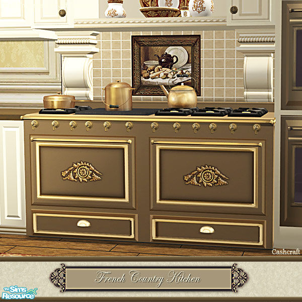Country Kitchen Range: Cashcraft's French Country Kitchen