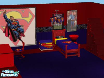 Shannon730 s superman bedroom set