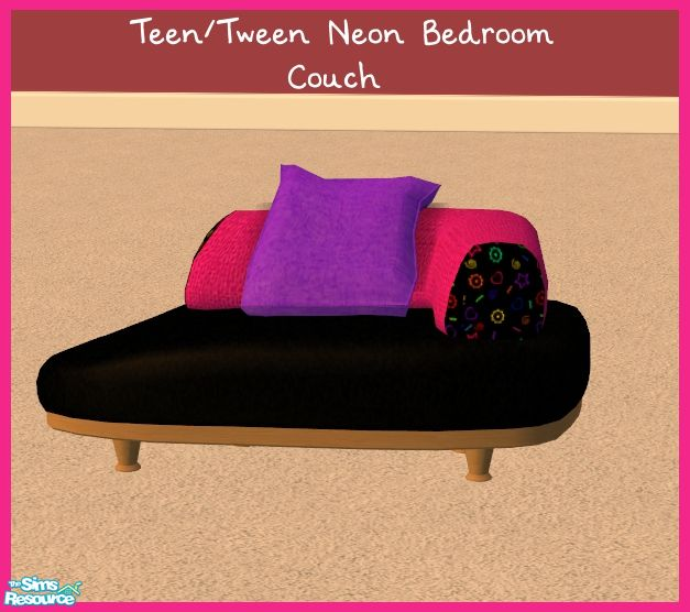 sinful aussie 39 s teen tween neon bedroom chair couch
