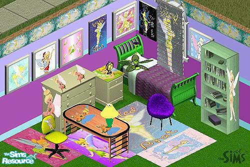 voakley 39 s tinkerbell bedroom set