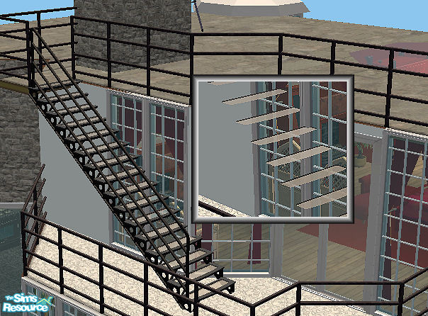 how to shorten stairs sims 4 build mode