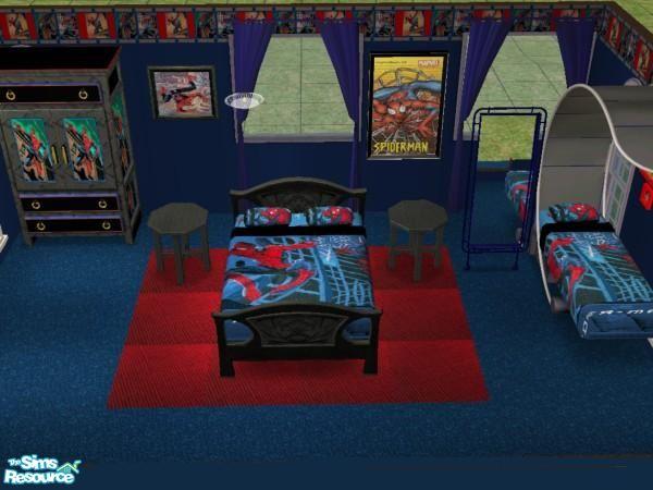 jeyca 39 s spiderman bedroom set