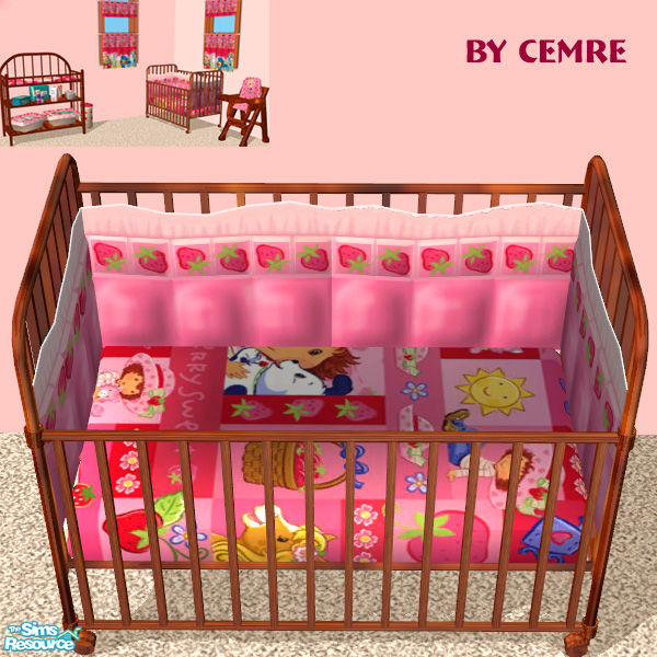 Top Strawberry Shortcake Crib Bedding 600 x 600 · 131 kB · jpeg