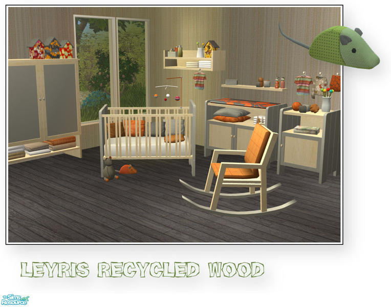 Mirake s leyris nursery light wood 2