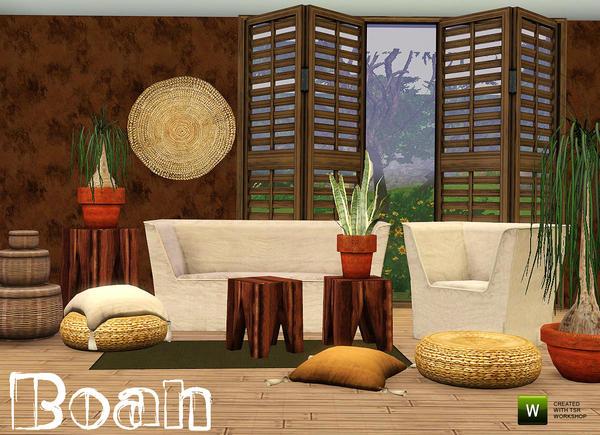 Гостиная комната Boah Living by n-a-n-u.