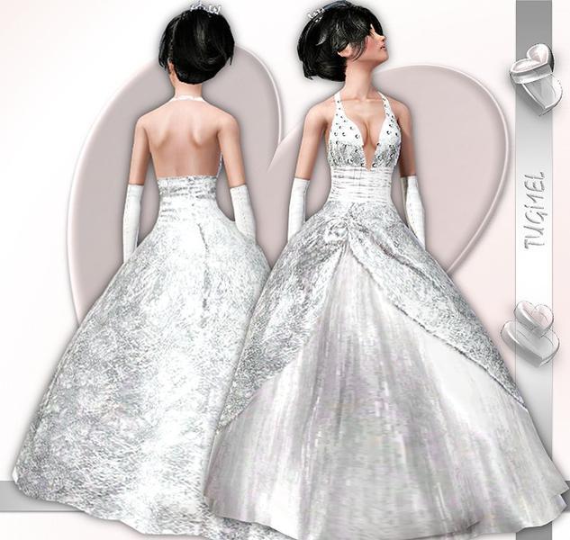 скачать свадебное платье для симс 3 бесплатно