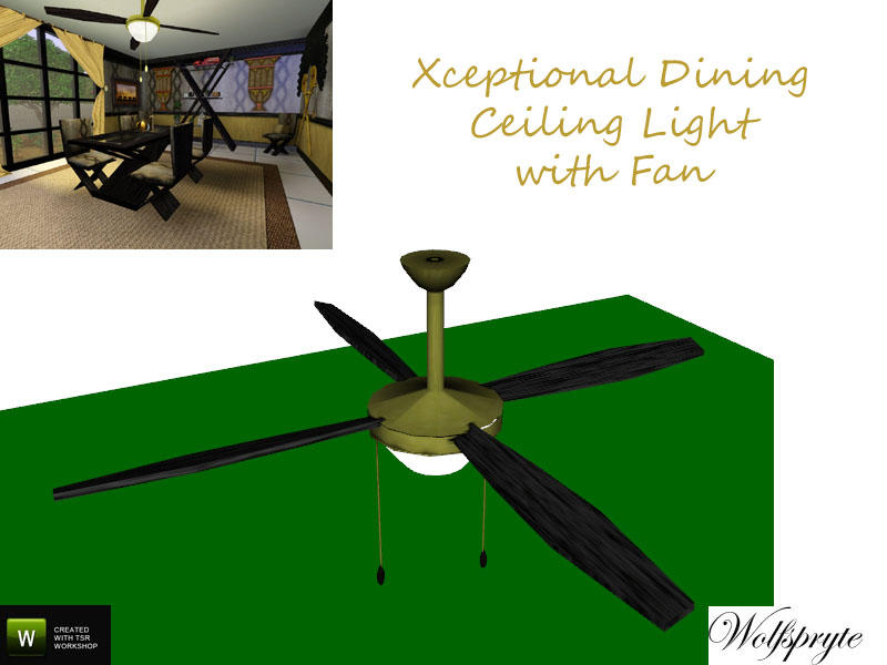 Wolfspryte S Xceptional Dining Ceiling Light Tsraa