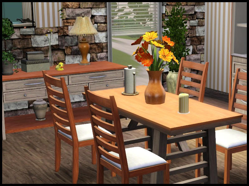 Sim man123 39 s cooper dining room for Sims 3 dining room ideas