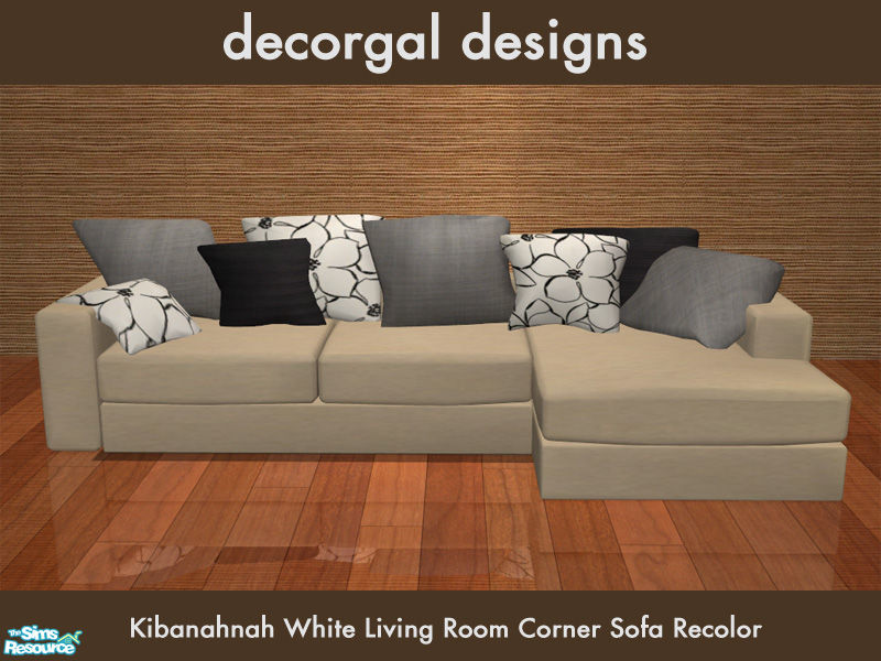 Decorgal215 S Kibanahnah S Corner Sofa In Cream