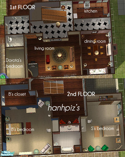 Hanhpiz 39 s gossip girl blair waldorf apartment house for Gossip girl apartment floor plans