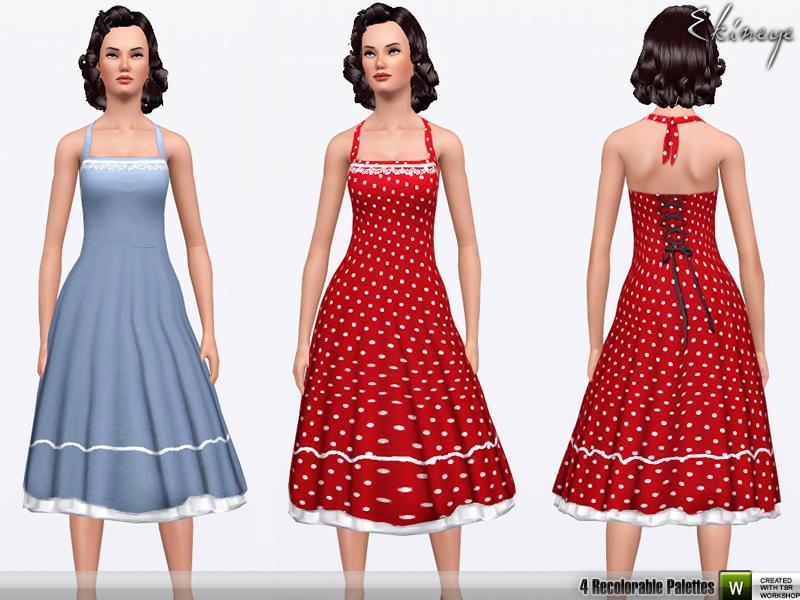 w 800h 600 1828304 Halterneck Swing Dress. Jun 2, 2011 by ekinege ItemID: 1078450
