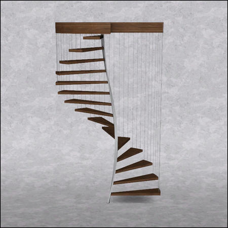 Aporte escaleras en espiral o caracol taringa - Escalera en espiral ...