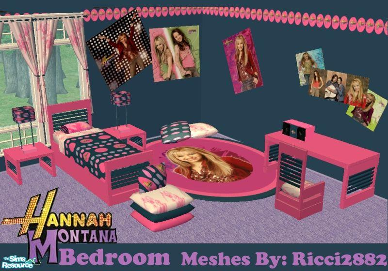 frogger1617s Hannah Montana Teen Room - Hannah Montana Bedroom