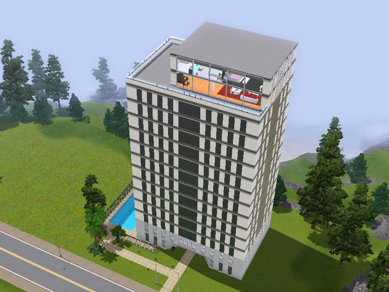 Sims High Rise Apartments Downloads