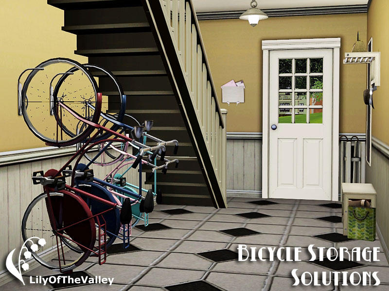 Lilyofthevalley 39 S Bicycle Storage Solutions Wall Bicycle