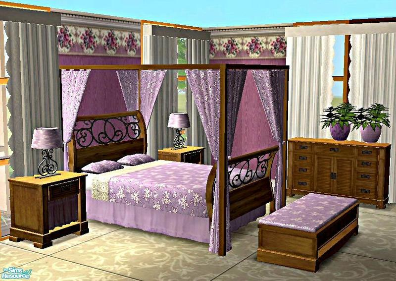Bed Canopy Sims 4 Bed Canopy