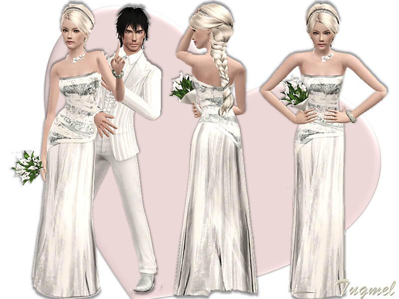 sims 2 vestidos de novia