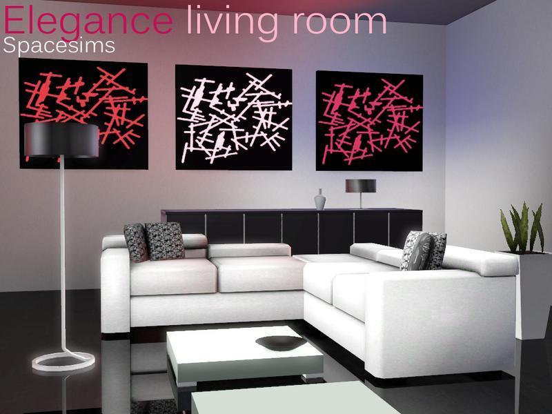 Spacesims Elegance Living Room