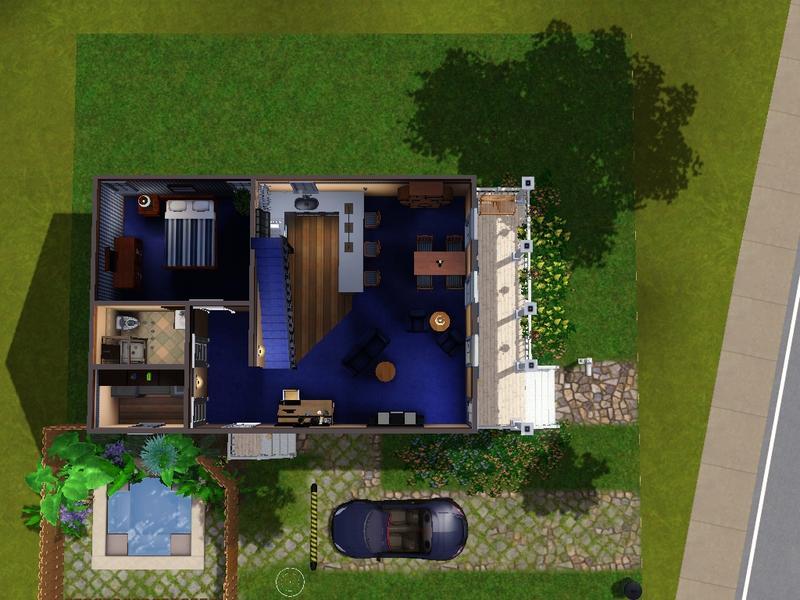 Pawzsim 39 S 2 Story Shotgun House