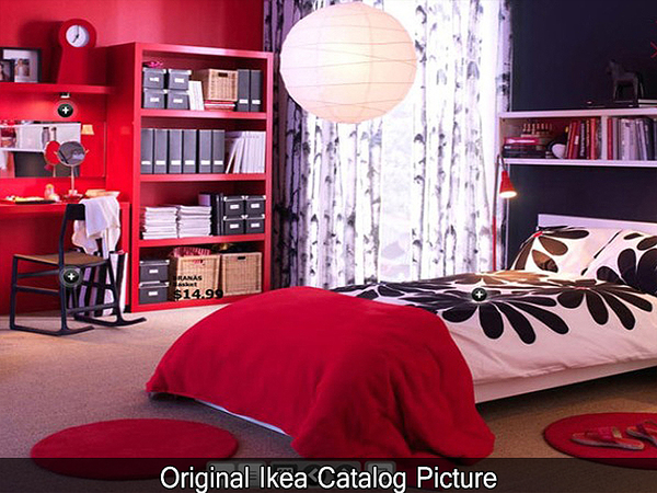 Empire Sims 3 Ikea Inspired Malm Teen Room By