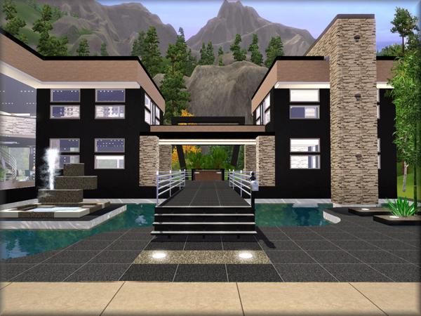 C mo crear puente sobre piscina en los sims 3 for Sims 2 mansiones y jardines