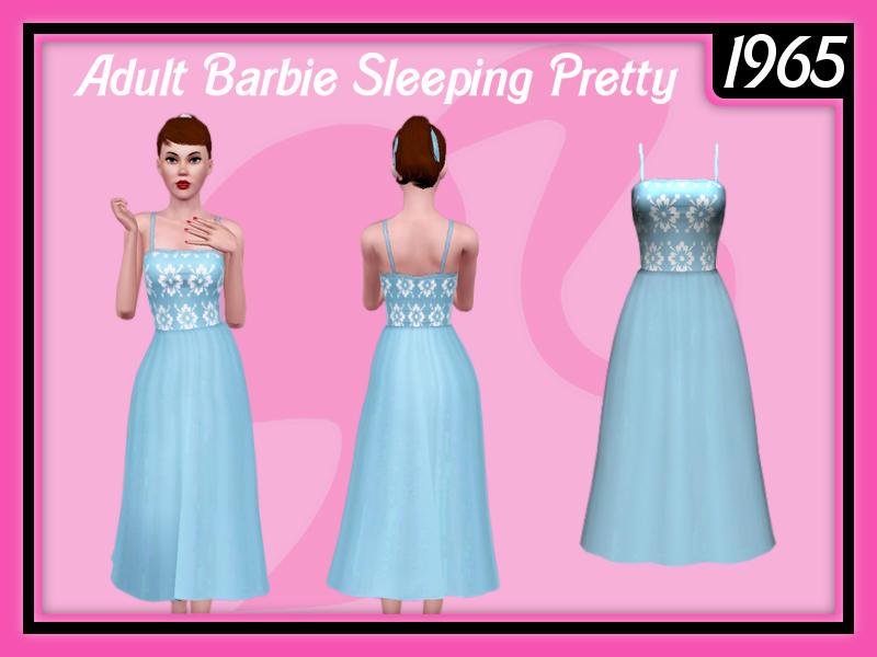 Sam_Adult Barbie Sleeping Pretty by frisbud