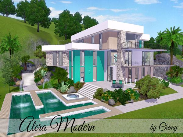 Carol love sims 3 casas for Casas modernas the sims 4