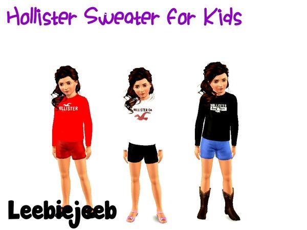 Leebiejeeb's Hollister Sweater For Kids