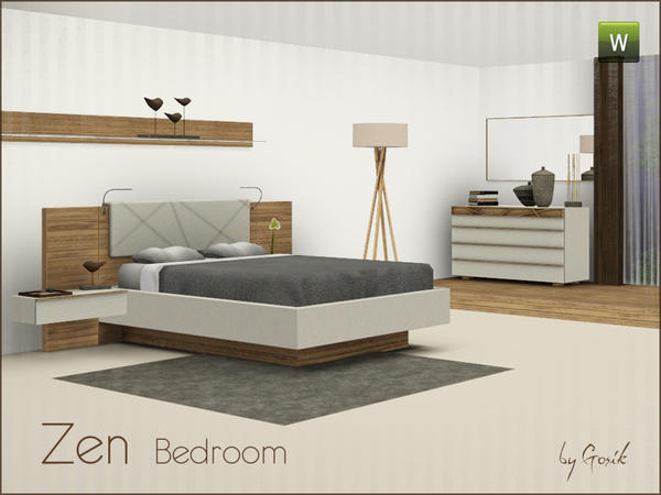 Zen bedroom by Gosik