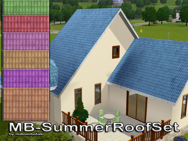 MB-SummerRoofSet by matomibotaki