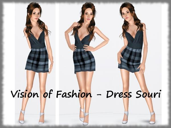 Vision of Fashion - Dress Souri by Visiona