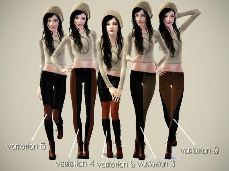 [IW] AF Striped Jeans by IkariW2