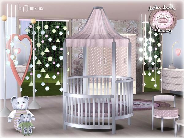 Empire Sims 3: Lola Love Nursery by jomsims TSR *FREE*