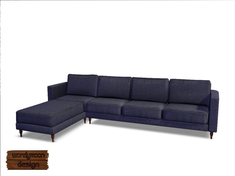 Wondymoon39s nitrogen corner sofa p1 for Sims 3 sectional sofa download