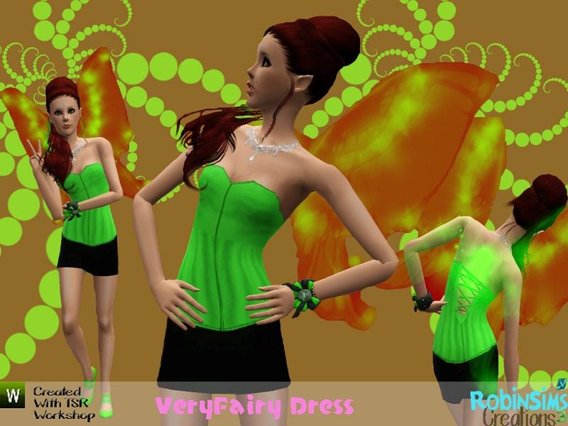 VeryFairy Dress by JavaSims