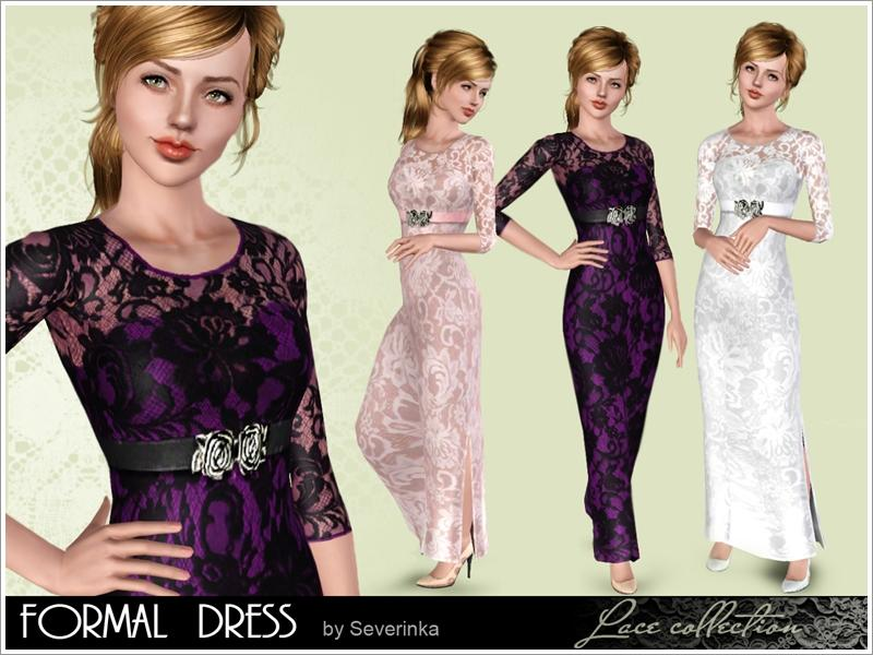 Sims 3 prom dresses tsr hairstyles