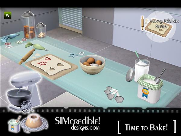 Empire sims 3 funny kitchen time to bake by simcredible tsr
