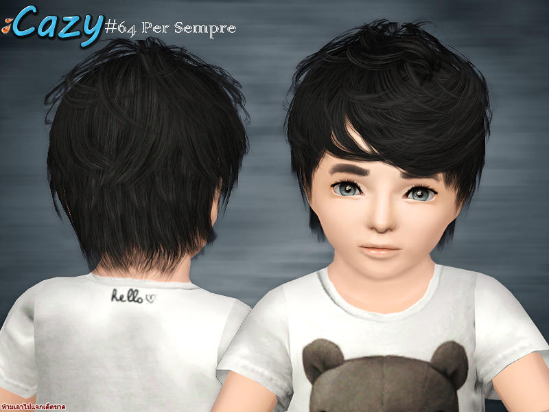 Cazy S Per Sempre Hair Toddler