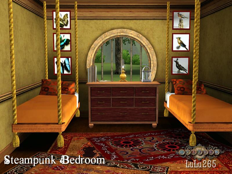 lulu265 39 s fratres steampunk bedroom