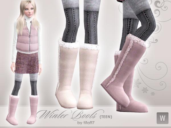 Teen Winter Boots 15