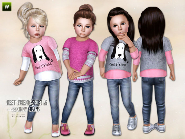 free sims 3 downloads toddler clothes