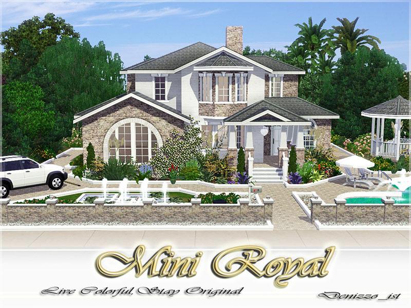 Mini Royal.Sims3Pack - Domy - Dodatki do The Sims 3 - qrazCN - Chomikuj.pl