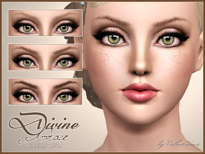 Divine Grace Eyebrows by Pralinesims