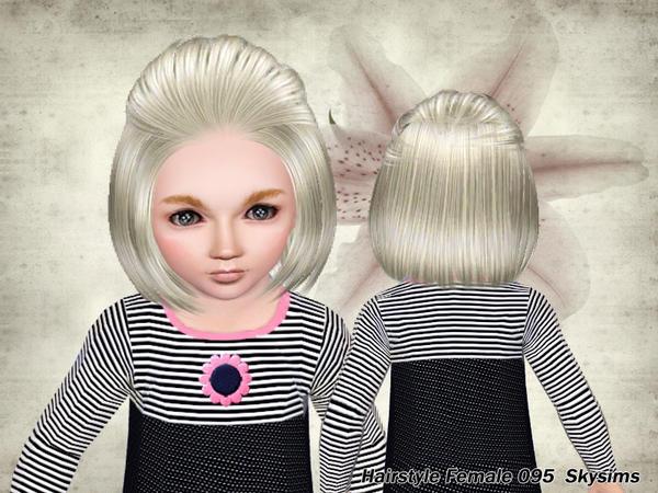 Darus1510 The Sims 3 Fryzura 2 Krótkie Włosy