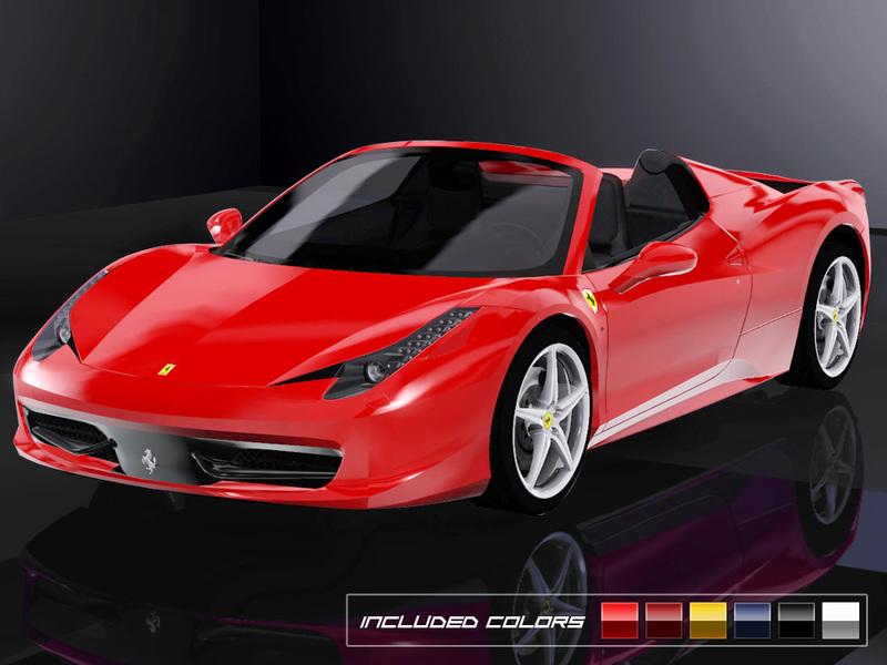 ������ 2013 Ferrari 458 Spider �� Fresh-Prince