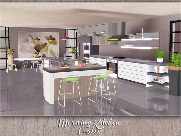 Ung999 39 s morning kitchen for Kitchen ideas sims 3