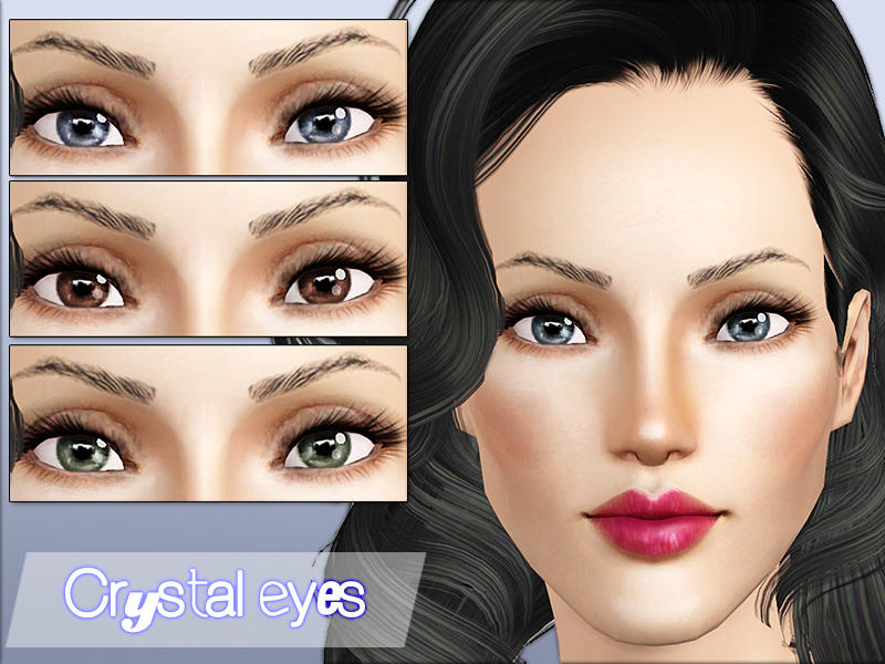Crystal Eyes от Sims2fanbg