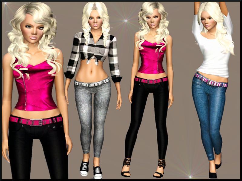 Серия сообщений The Sims 3: модная женская одежда : Модная женская одежда: