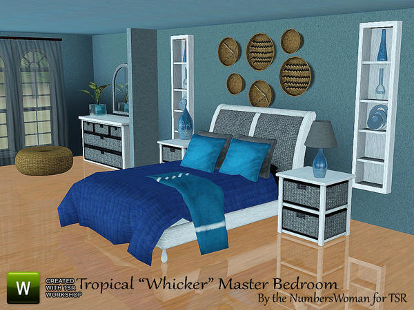 Emma 39 s simposium 5 room sets by riccinumbers 51 for Sims 3 master bedroom ideas